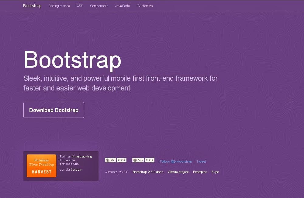 Framework CSS Bootstrap