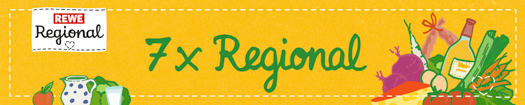 7x Regional mit REWE Regional
