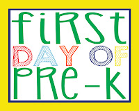 First Day of School Free Printables: Preschool through Twelfth Grade High Res Prints {Perfect for your kiddo's first day photos}