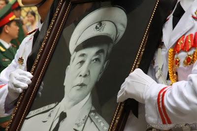 Võ Nguyên Giáp, Quốc tang, Đại tướng, dân chúng, Võ Điện Biên
