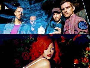 Coldplay e Rihanna Princess of China