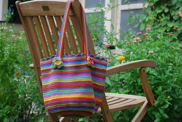 Crochet Bag And Pattern : Crochet For Free: Crochet Bag