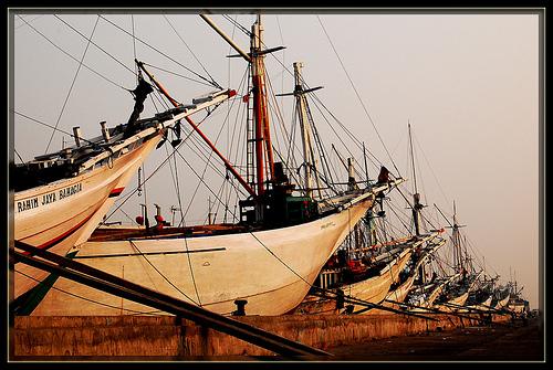 Objek wisata Pelabuhan Sunda Kelapa Jakarta