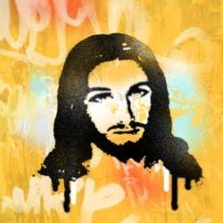 """Los """"grafiteros"""" presentes en la JMJ Río 2013 Jesus_Graffiti"""