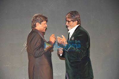 Amithabh & Kapil Dev unveil Siddhu's 'sherryontopp.com' website