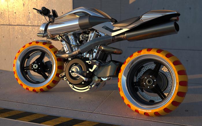 Brough Superior Concept Motorcycle Auto Car