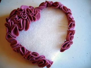 dia dos namorados - coração em feltro com PAP (DIY)