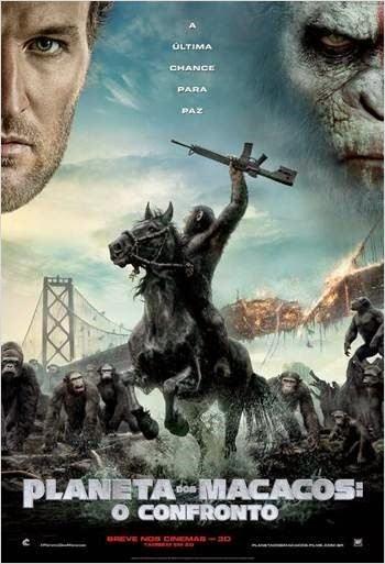 Filme Planeta Dos Macacos O Confronto Dublado AVI BDRip