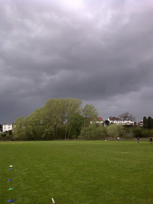 Rain over Worcester
