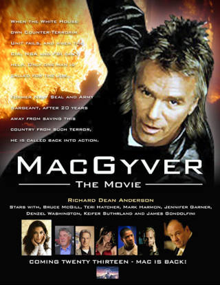 MacGyver Movie in 2013