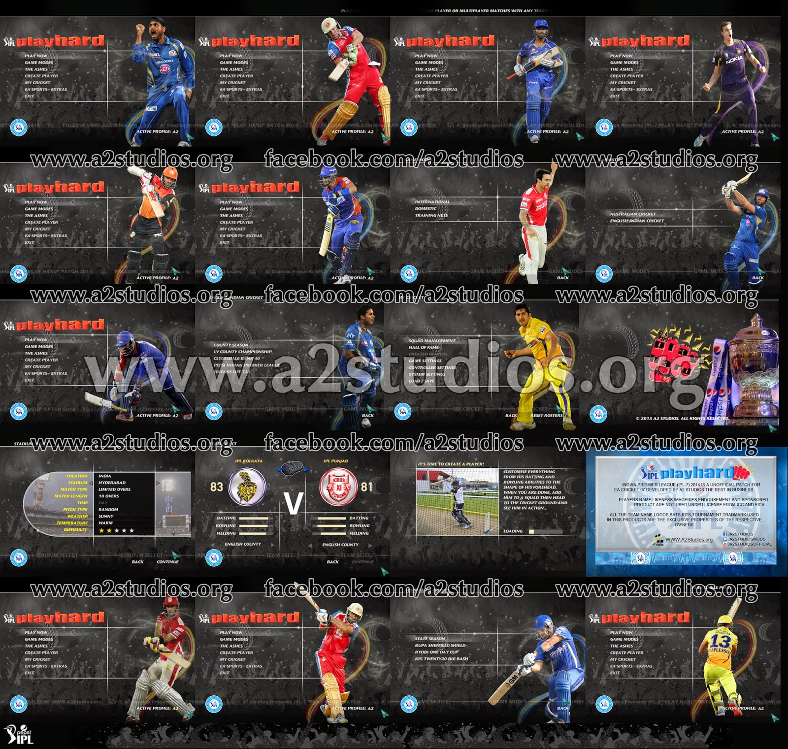 pepsi ipl 7 patch 2014 menu