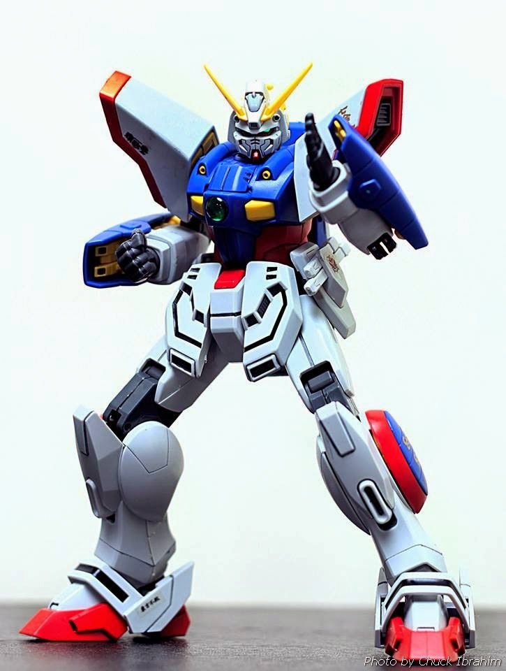 shining gundam century model kits