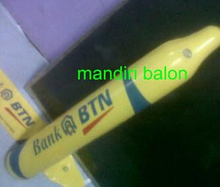 BALON TEPUK Logo BANK BTN