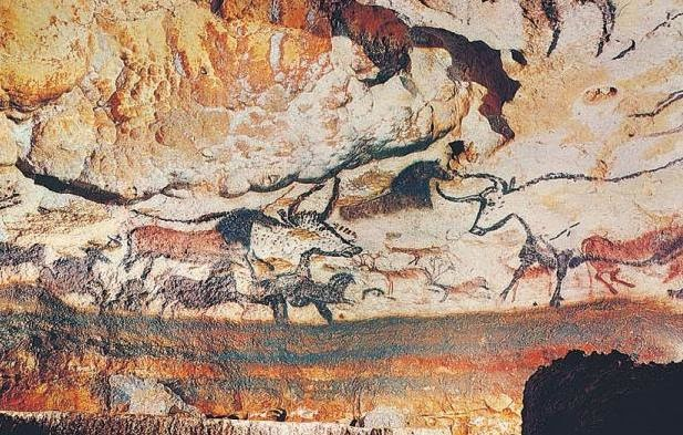 History of Painting: The cave at Lascaux, France