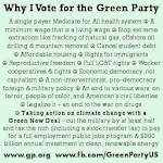#VoteGreenParty