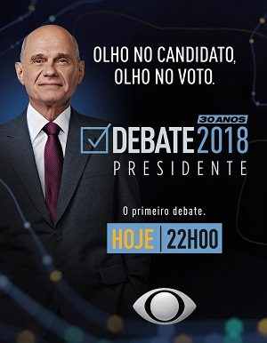 Debate Presidencial 2018 na Band Filmes Torrent Download capa