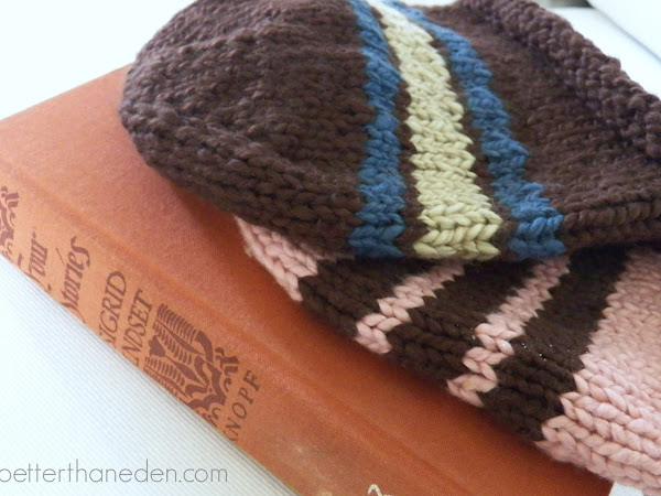 Knitting, Reading, and a Prayer Request