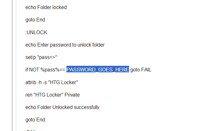 lock a folder or file without any software 02