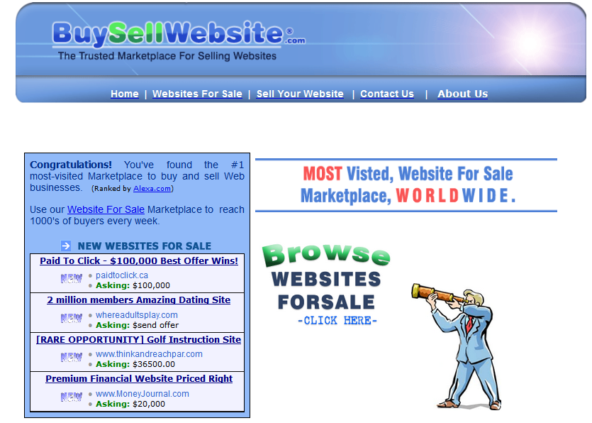 Top 6 places to buy or sell blogs websites computer for Best websites to buy online
