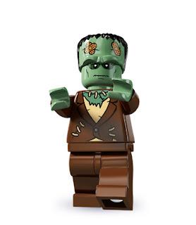lego minifigür canavar