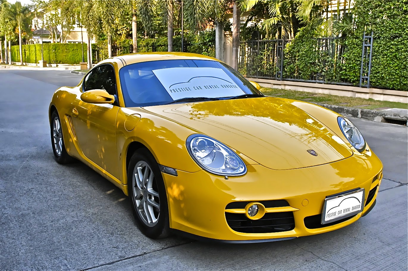 Porsche car rental Bangkok