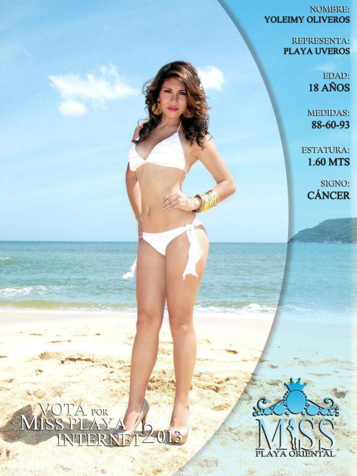 Concurso bikini playa oriental