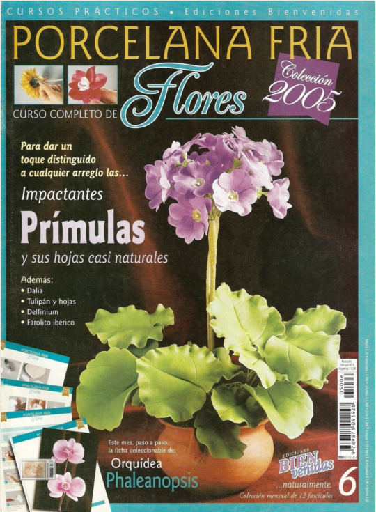 Porcelana Fria, Flores N 06 FreeLibros