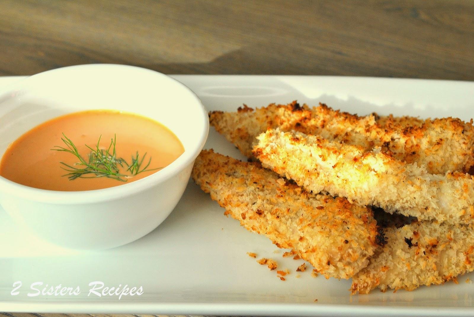 recipe: oven fried chicken tenders panko buttermilk [17]