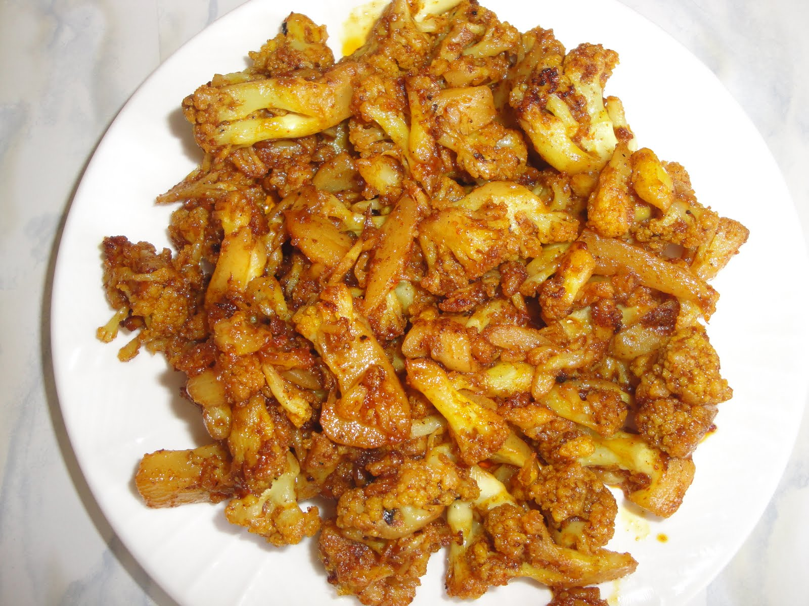 Food and Taste: Cauliflower Fry