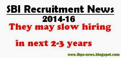 sbi recruitment news