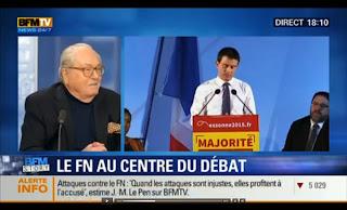 Jean-Marie Le Pen sur BFM TV - 17 mars