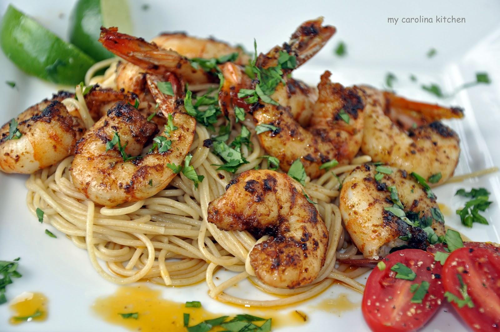 My Carolina Kitchen: Spicy Shrimp – two ways to serve the ...