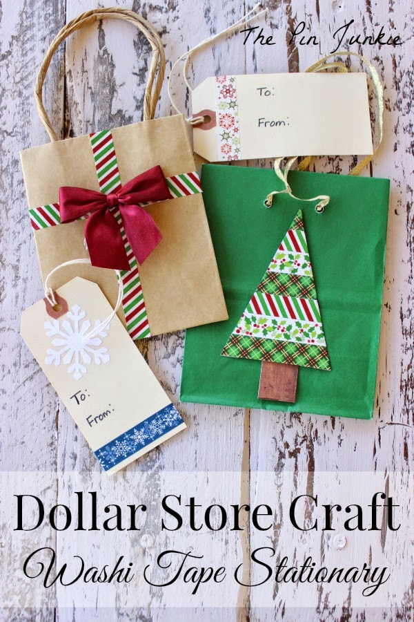 Washi Tape Gift Bags & Gift Tags