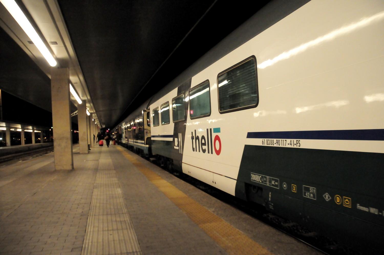 Paris venise train de nuit