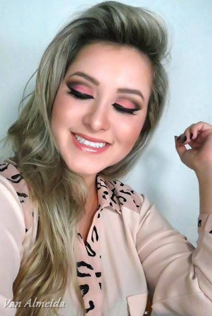 Tutorial de Maquiagem - Rosa