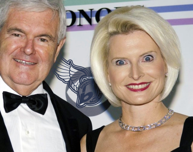 she is taking rush limbaugh's drugs and is that saliva on her bottom lip?