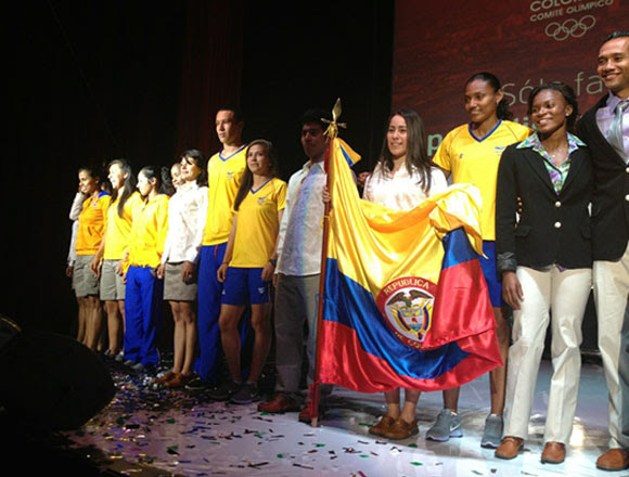 Colombia uniform for london olympic
