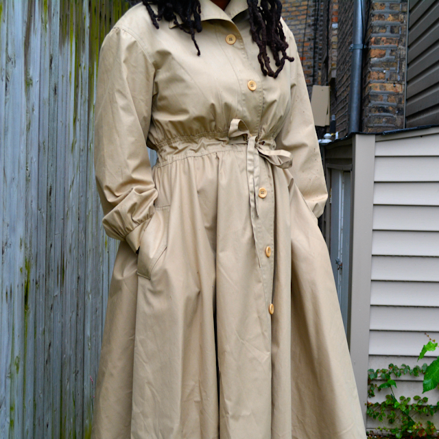 thrift and style a vintage trench coat