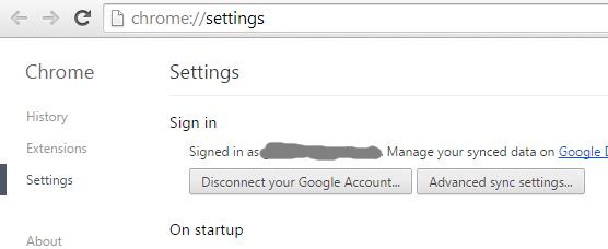 Синхронизация личных данных в облако Google Chrome