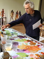 Fischl in his studio