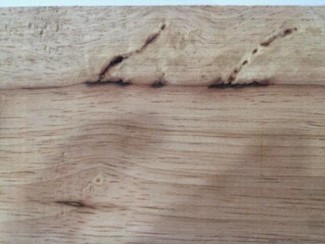 gỗ bị mặt đen