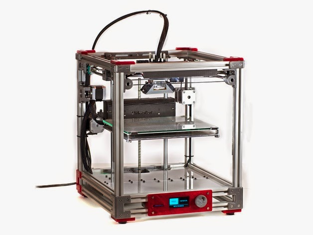 DIY 3D Printing: Make your own aluminum frame Ultimaker 2 clone