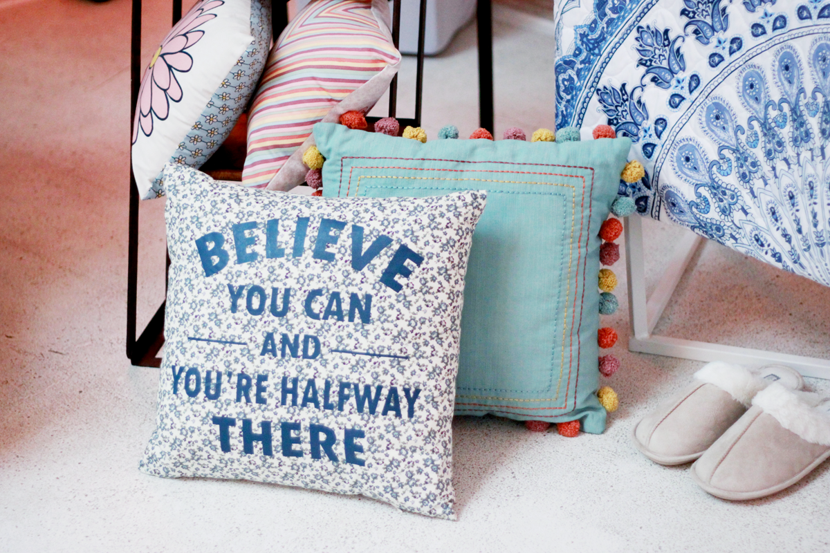 primark believe that you can cushion ss16
