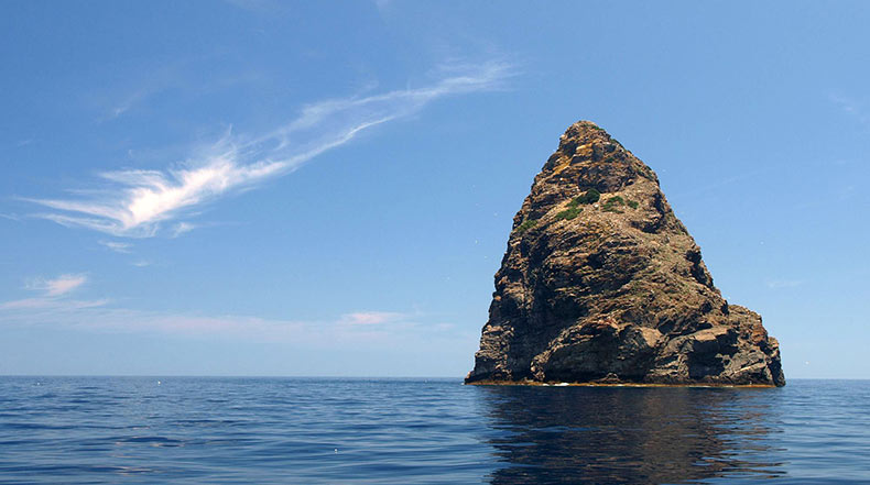 La isla magnética Jabuka