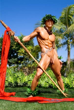 polynesian men naked Hot