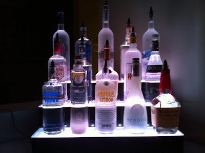 LED Liquor Shelves Display Wall Mount LIQUOR SHELVES 3