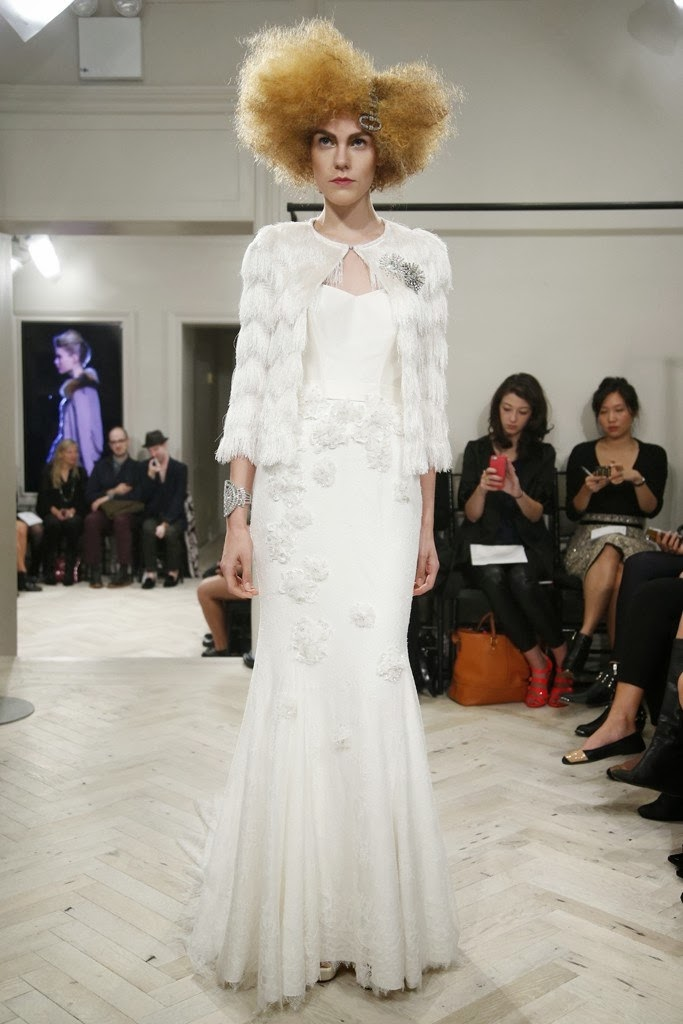 Badgley Mischka Fall 2014 Bridal Collection