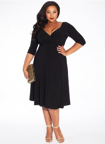 plus size attire qvc