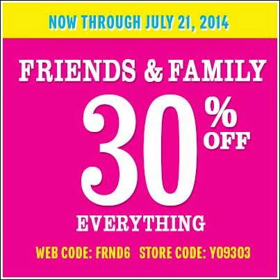 Children's Place Store Coupon