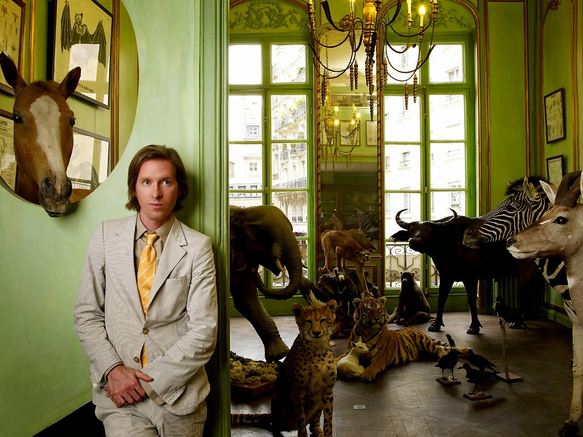 Screen Vistas WES ANDERSON ROUNDTABLE THE DARJEELING LIMITED - Anderson round table